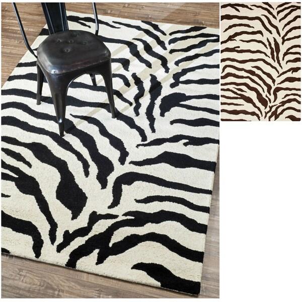 Zebra Texture Carpet