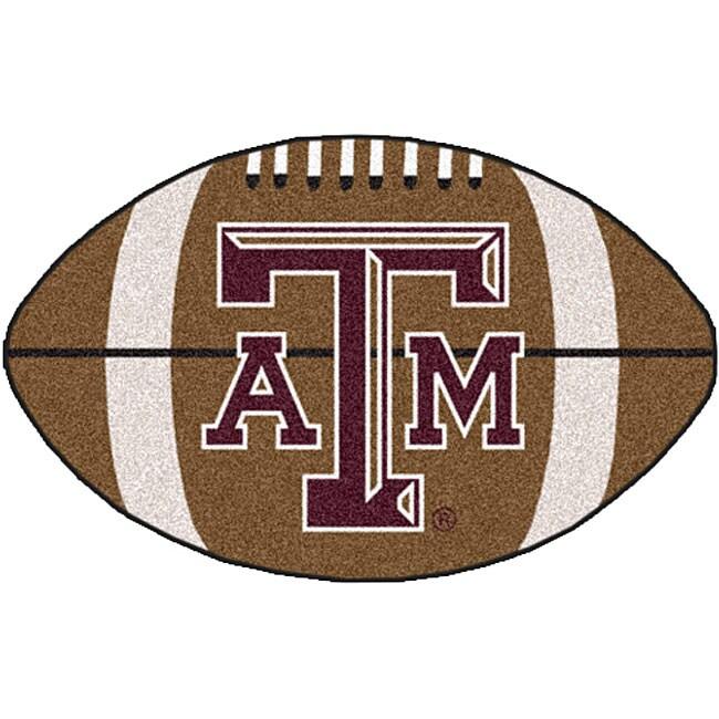 Fanmats NCAA Texas A&M University Football Mat