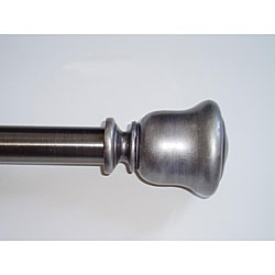 Swing Arm 24 To 38 Inch Adjustable Curtain Rod Overstock