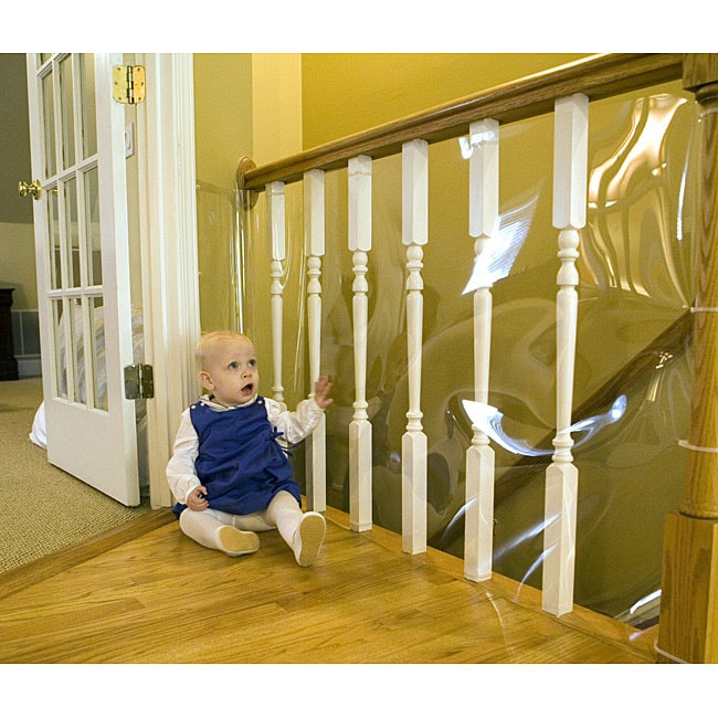 Clear 15 Foot Banister Guard Roll 11604416 Overstock