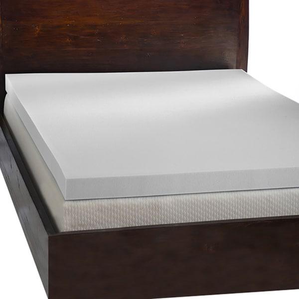 Comfort Dreams Ultra Soft 4 Inch Memory Foam Mattress