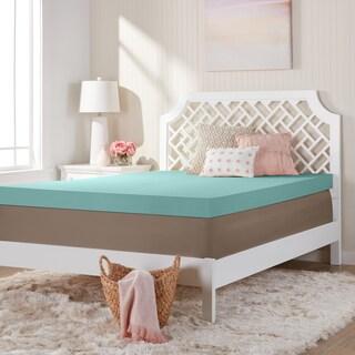 Comfort Dreams Ultra Soft 4-inch Memory Foam Mattress Topper