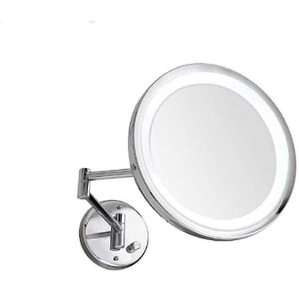 Danielle Wall Mount 10x Lighted Mirror 11722356