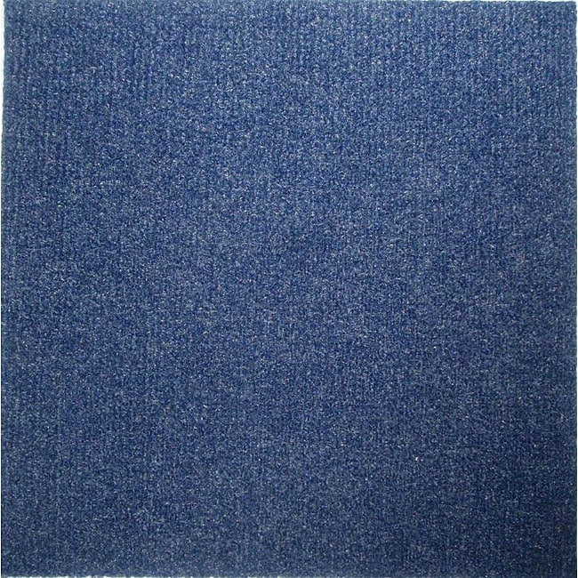 Do It Yourself Blue Carpet Tiles 144 Square Feet 11738306 Overstock Com Shopping
