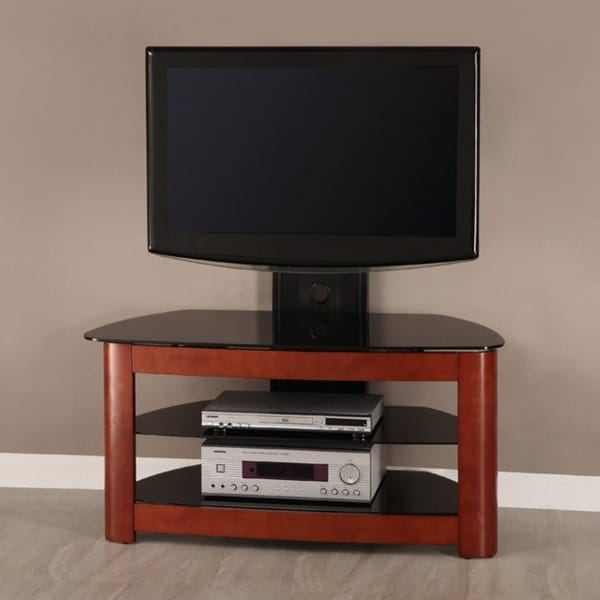 42 In Corner Tv Stand With Removable Mount Overstock
