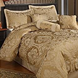 Halifax 7-piece Gold Comforter Set - 11875695 - Overstock