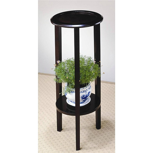 Venetian Wood Plant Stand Table 11889629 Overstock Com
