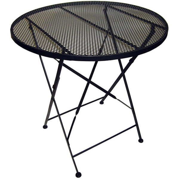 folding patio table 11922079 shopping great deals on pangaea home garden. Black Bedroom Furniture Sets. Home Design Ideas