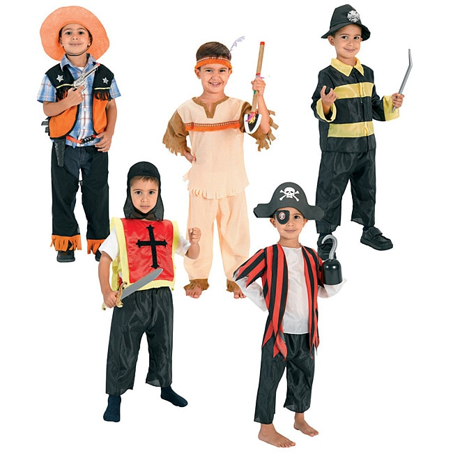 Dress Up Pretend Play Images On: Hero Adventure Dress Up Trunk Play Set