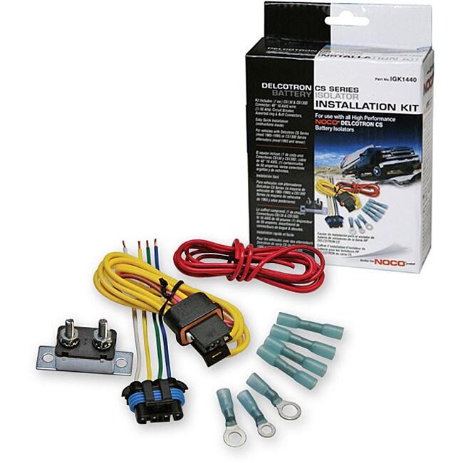 Delcotron Battery Isolator Installation Kit - 11931651 ...