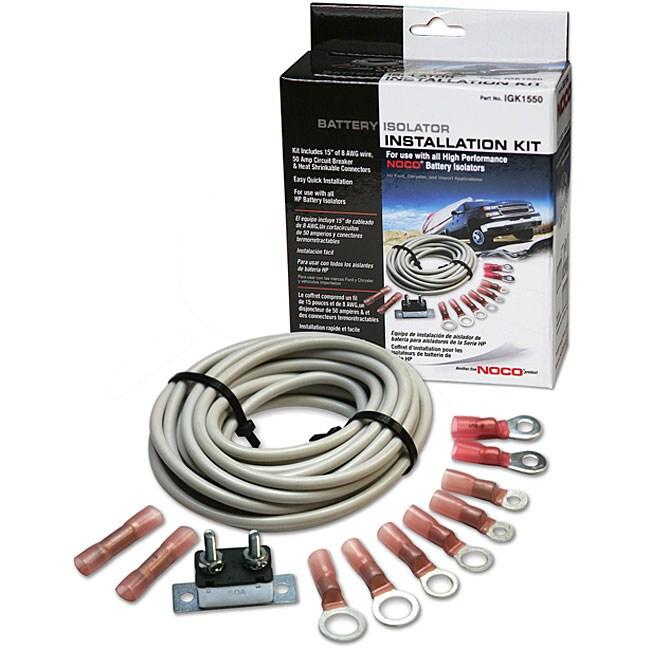 Standard Battery Isolator Installation Kit - Overstock ...