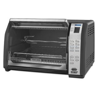Black Amp Decker Convection Toaster Oven
