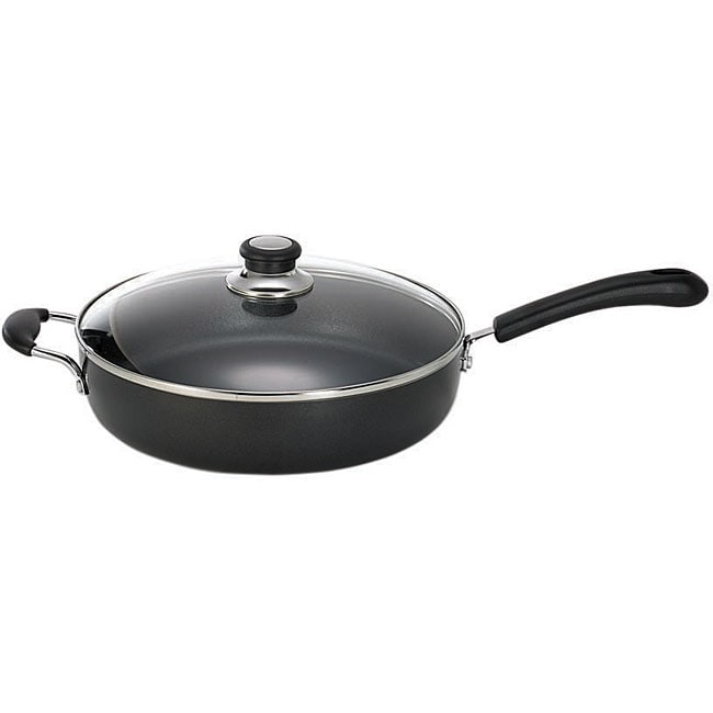 T Fal Jumbo Cooker 5 Quart Nonstick Pan With Lid