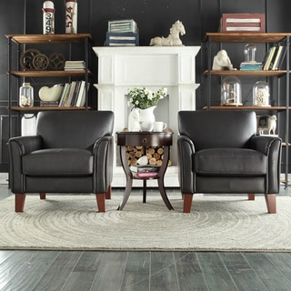 Magnificent Low Price Tribecca Home Uptown Modern Dark Brown Faux Onthecornerstone Fun Painted Chair Ideas Images Onthecornerstoneorg