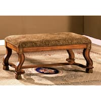 Copper Grove Castlerock Traditional Antique Oak Bench