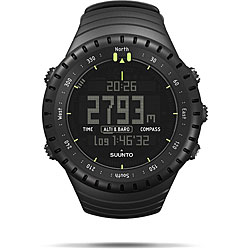 Suunto Core Men's All Black Altimeter Watch