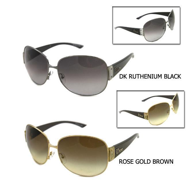 593f55cece9 Christian Dior CD MIXT 1 Round Metal Sunglasses on PopScreen