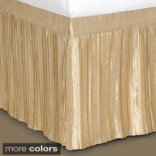 Pleated Satin Bedskirt 12029319 Overstock Com Shopping