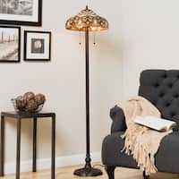 Tiffany-style Ariel Floor Lamp