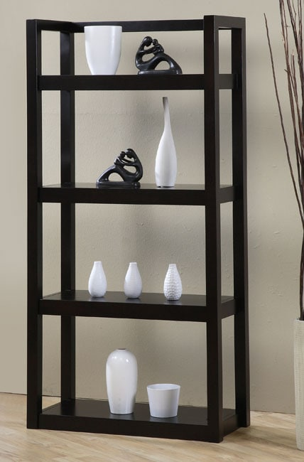 Open Shelf Bookcase 12092397 Overstock Com Shopping Great Deals On Media Bookshelves