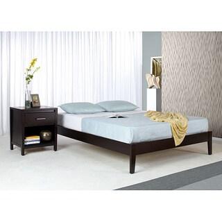 Sophie Tufted Beige Linen Queen Size Platform Bed