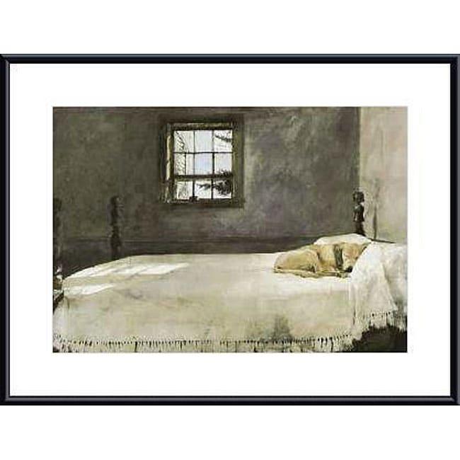Andrew Wyeth 'Master Bedroom' Metal Framed Art Print