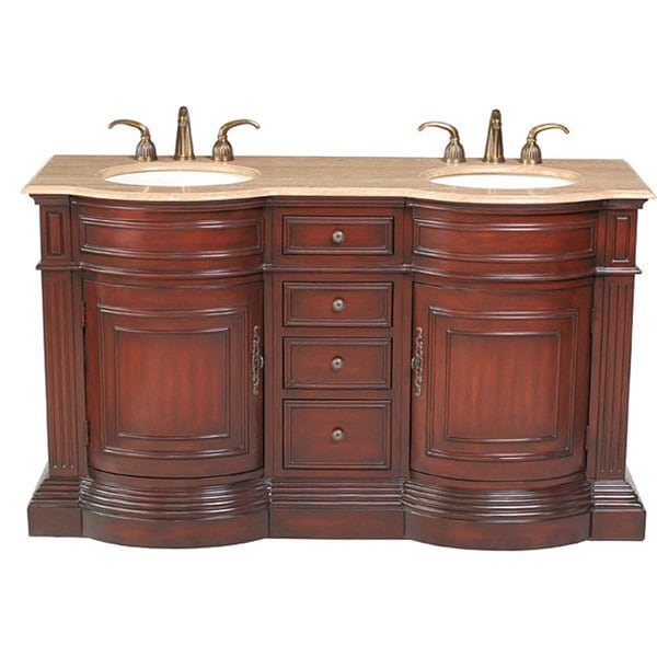 90 Inch Double Sink Bathroom Vanity: Share: Email