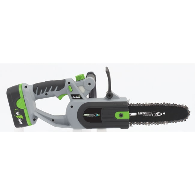 Earthwise Cordless 8 Inch Chain Saw 12130021 Overstock