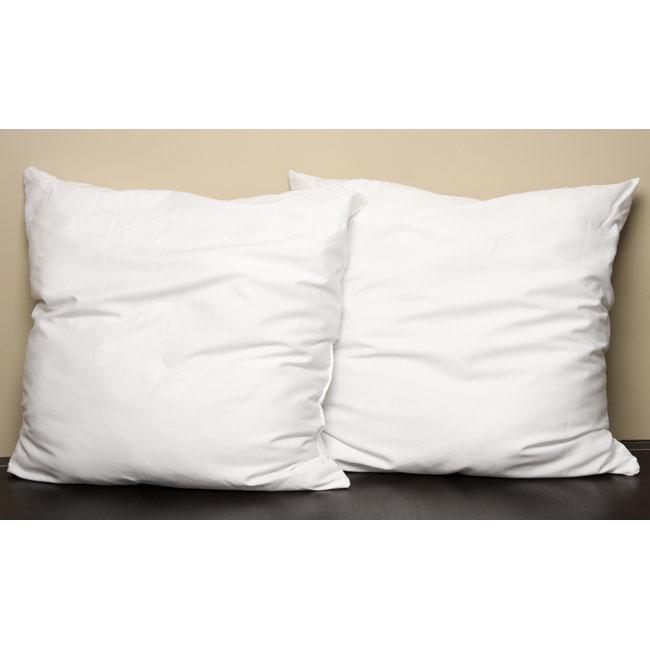 Polyester Euro Size Pillows Set Of 2 12139066