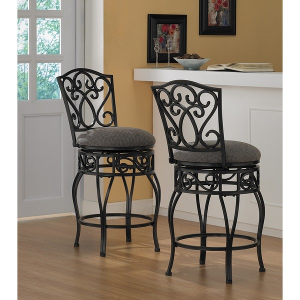 Stools Overstock: Chase 24-inch Swivel Counter Stools (Set Of 2)
