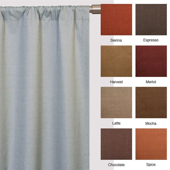 Trilogy Rod Pocket 120 Inch Curtain Panel 12208263