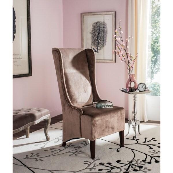 Safavieh En Vogue Dining Deco Bacall Velvet Side Chair