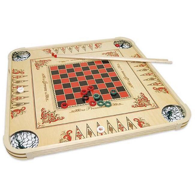 Carrom Game Board 12264336 Overstock Com Shopping