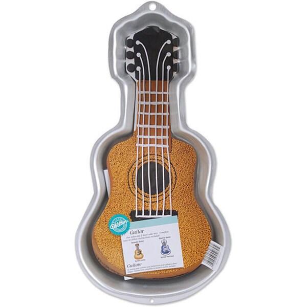 Wilton Guitar Novelty Cake Pan 12264329 Overstock Com