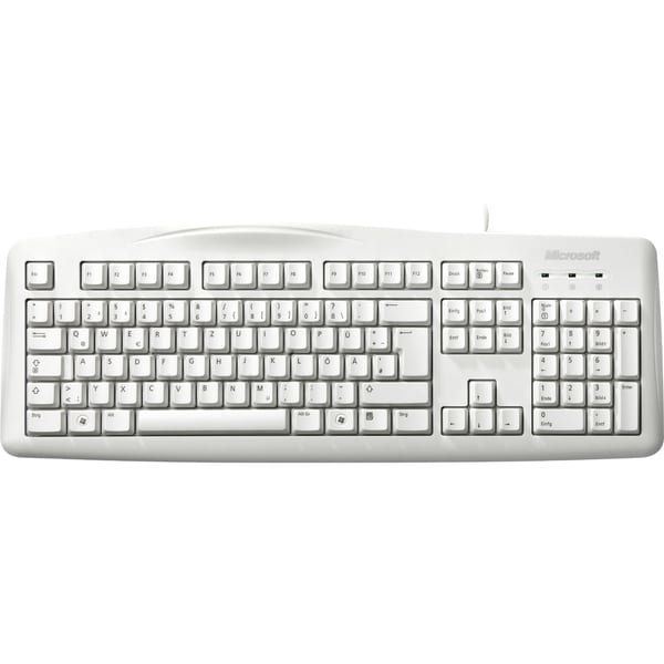 microsoft wired keyboard 200 12267047 shopping top rated microsoft keypads. Black Bedroom Furniture Sets. Home Design Ideas
