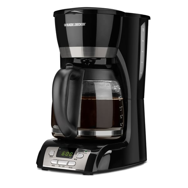 Black Amp Decker 12 Cup Coffee Maker 12275558 Overstock