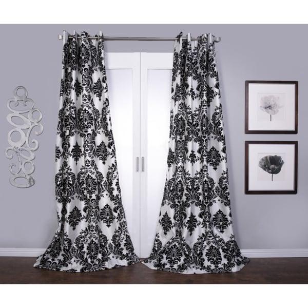 Venetian Grommet Top 84 Inch Curtain Panel 12299956