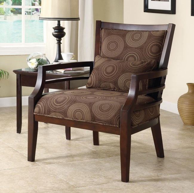 Philly Framed Chair Chocolate 12318385 Overstock Com