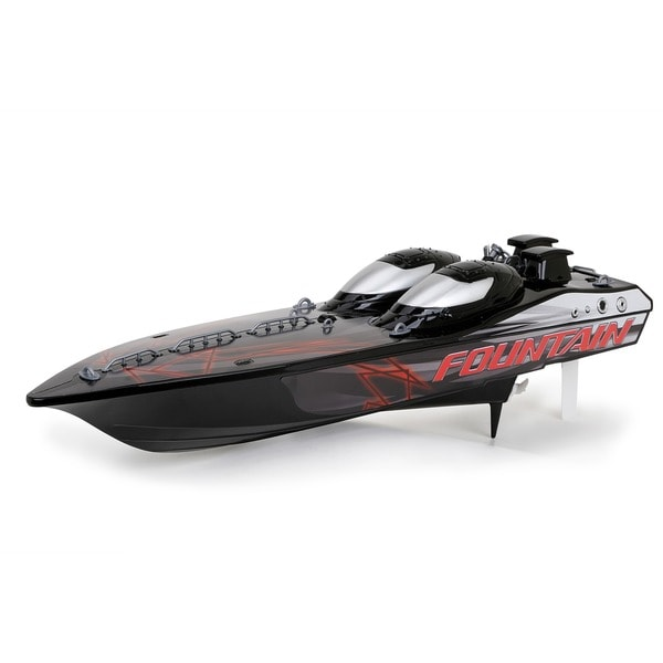 Fountain Boats For Sale >> New Bright 23-inch FF 9.6-volt RC Fountain Boat - 12325152 - Overstock.com Shopping - Big ...