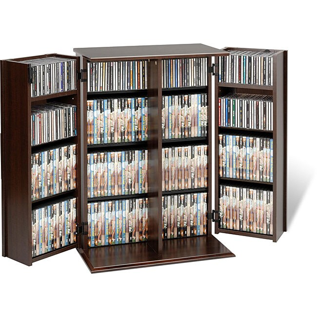 Everett Locking Dvd Cd Media Storage Cabinet 12325520