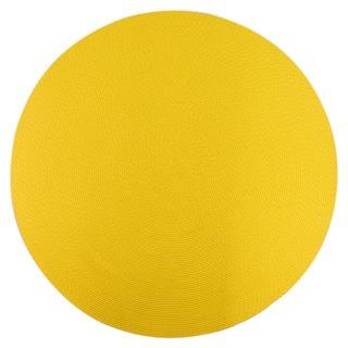 Sun Splash Indoor Outdoor Colorful Yellow Braided Rug 8