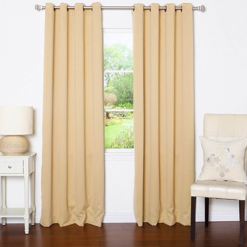 Aurora Home Grommet Top Thermal Insulated 96 Inch