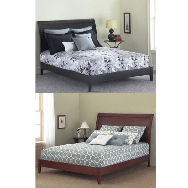 Java King Size Platform Bed 12331686 Overstock Com