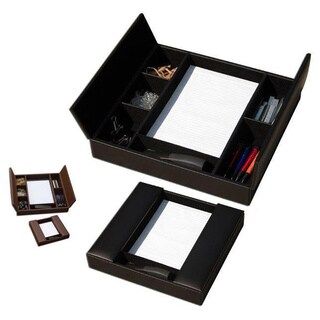 Dacasso 1000 Series Classic Leather Conference Room Organizer