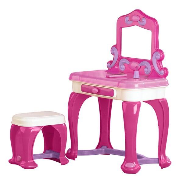 American Plastic Toys Deluxe Vanity Play Set 12340536