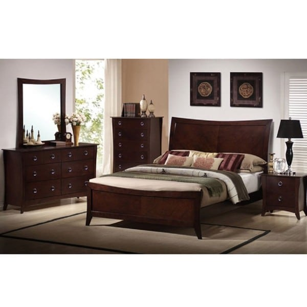 the ariel garden 5 piece bedroom furniture set 12351979 shopping big. Black Bedroom Furniture Sets. Home Design Ideas