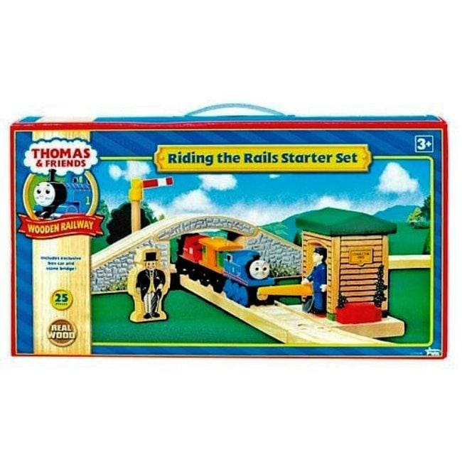 thomas wooden railway riding rails starter set 12738423 shopping big. Black Bedroom Furniture Sets. Home Design Ideas