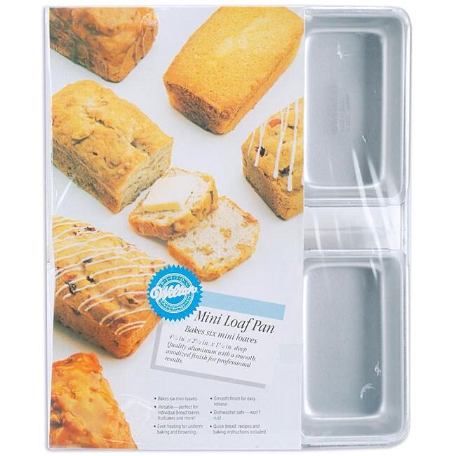 Wilton 6 Cavity Mini Loaf Pan