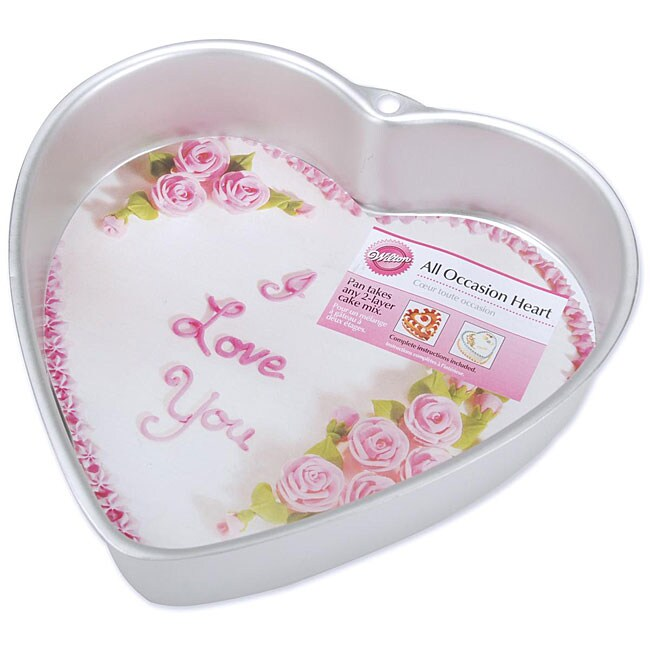 Wilton Heart Shape Cake Pan 12369902 Overstock Com