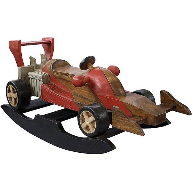 Handmade Kid S Race Car Rocking Horse Thailand